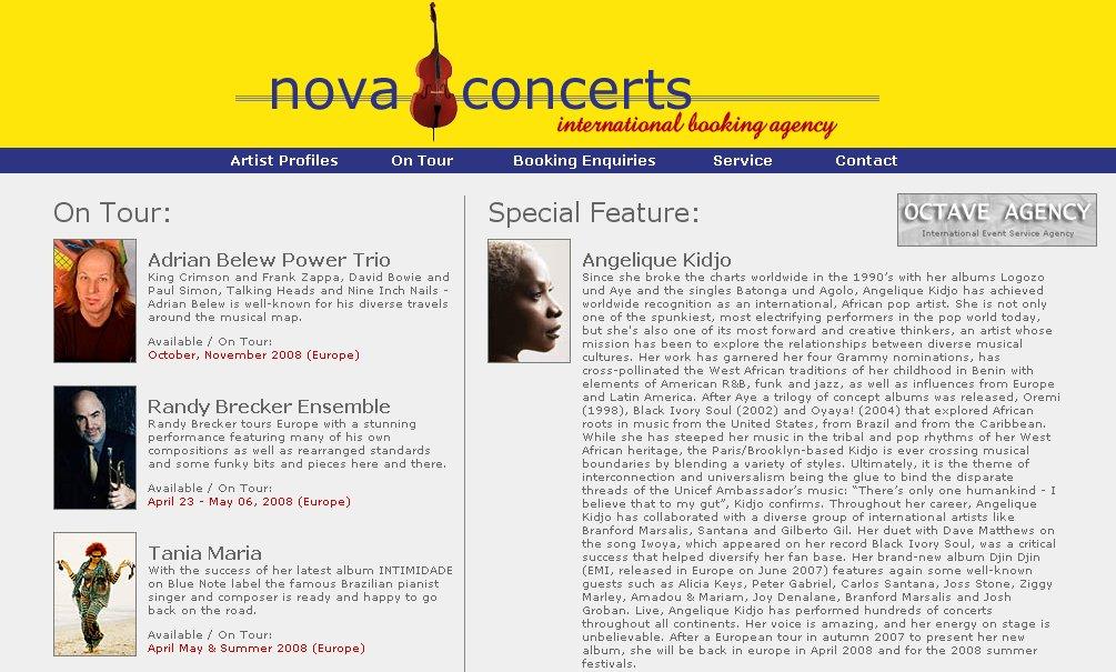 Website Version 3 (Main Page)