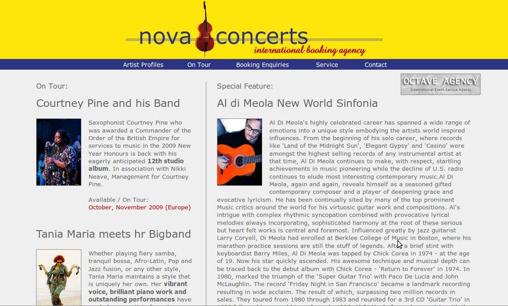 Website Version 4 (Main Page)